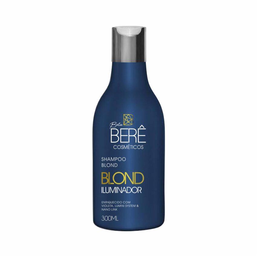 Shampoo Blond Iluminardor 300ml Bela Berê