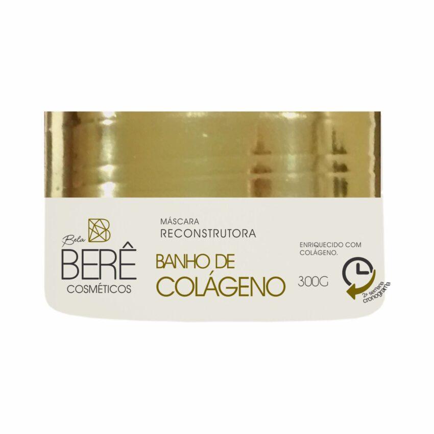 Máscara Reconstrutora Banho de Colágeno 300g Bela Berê