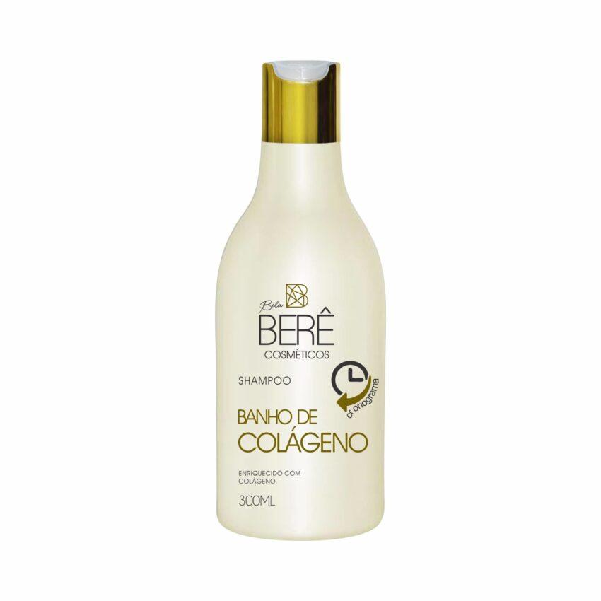 Shampoo Banho de Colágeno 300ml Bela Berê