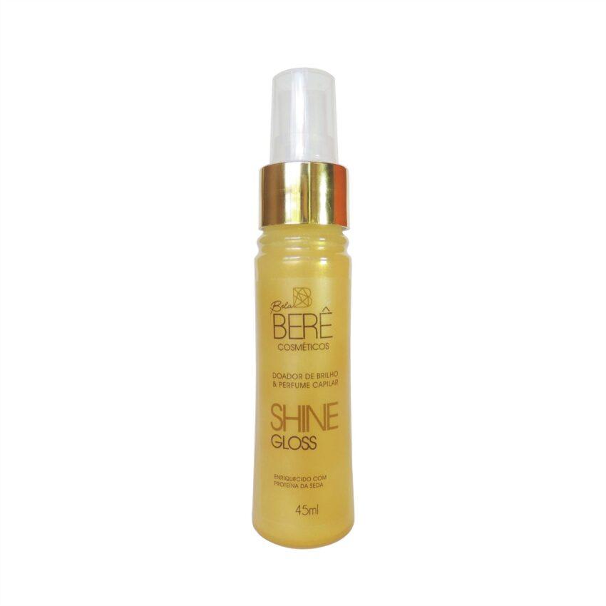 SHINE GLOSS Doador de Brilho & Perfume Capilar 45ml Bela Berê