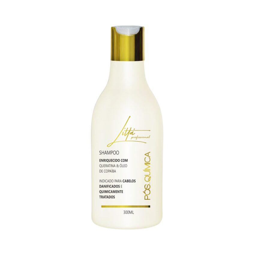 Shampoo Pós Química 300ml - Littá Profissional Bela Berê