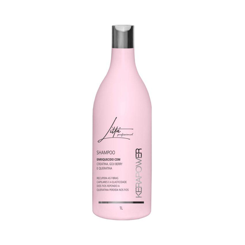 Shampoo Técnico Kerapower 1L - Littá Profissional Bela Berê