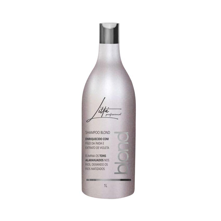 Shampoo Blond 1L - Littá Profissional Bela Berê