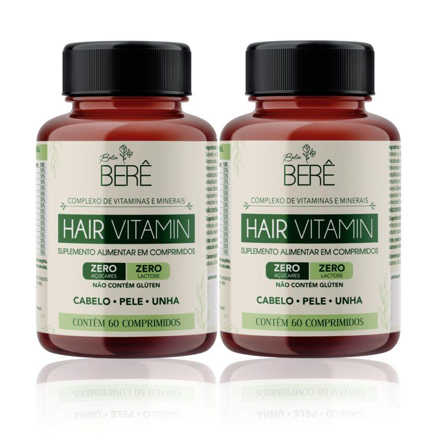 Hair Vitamin - Tratamento para 120 dias Bela Berê