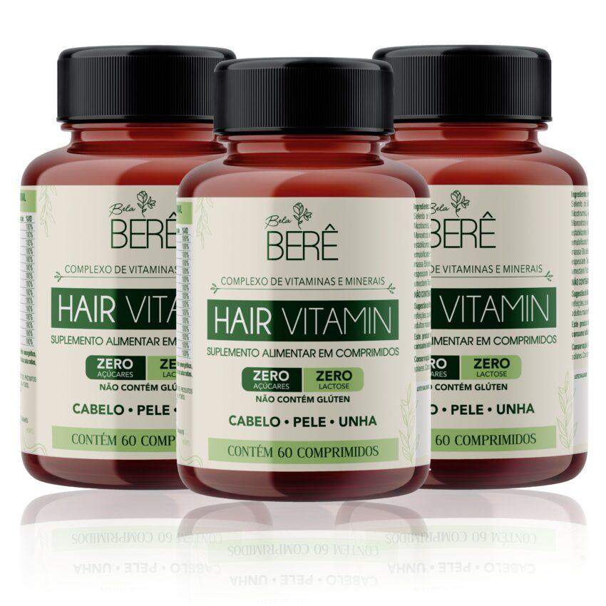 Hair Vitamin - Tratamento para 180 dias Bela Berê