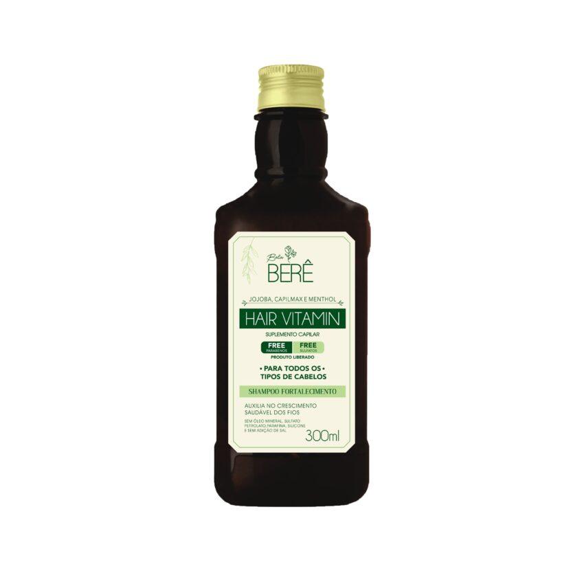 Shampoo Hair Vitamin 300ml Bela Berê