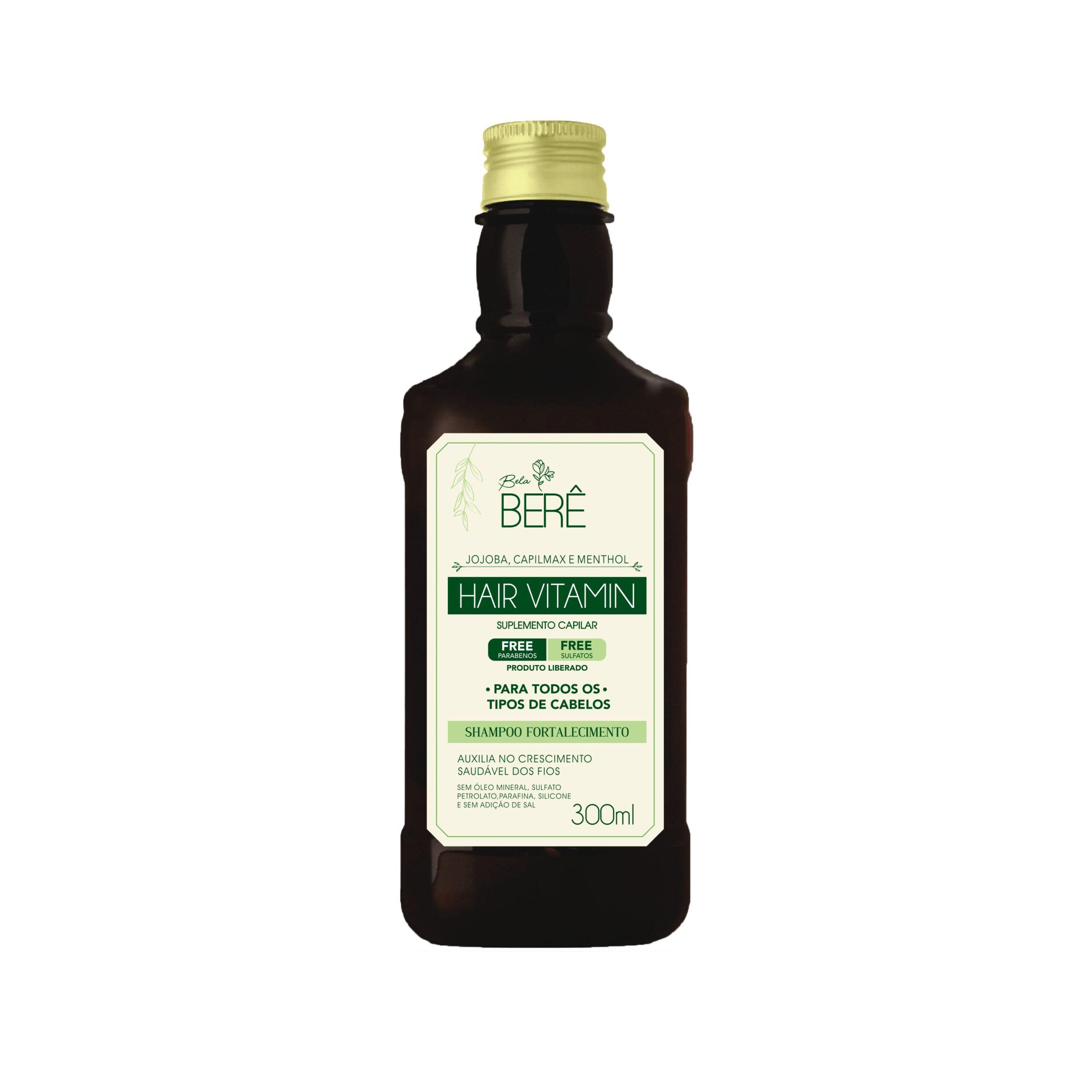 shampoo hair vitamin