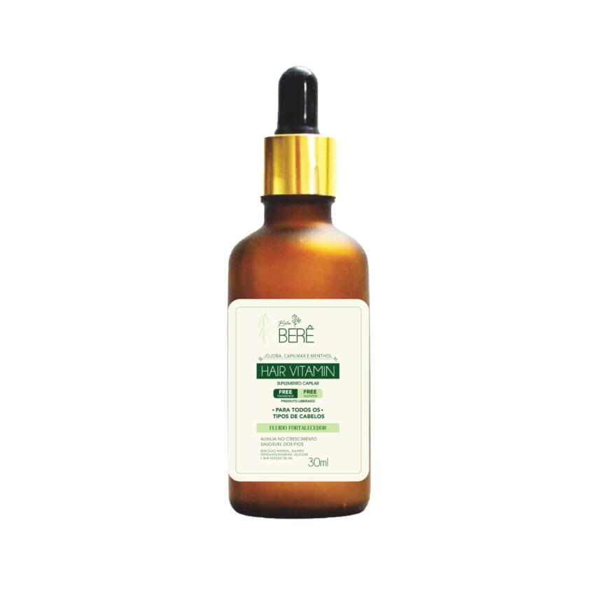 Fluido Fortalecedor Hair Vitamin 30ml Bela Berê