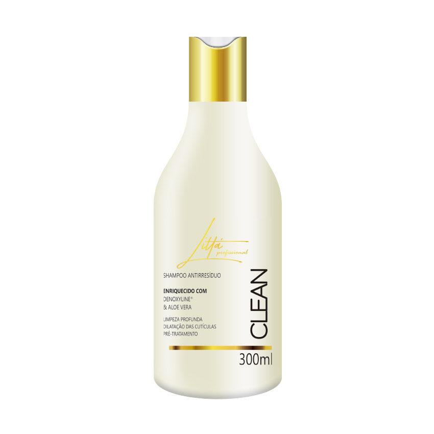 Shampoo Antirresíduo 300ml - Littá Profissional