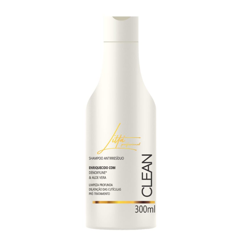 Shampoo Antiresíduo 300ml - Littá Profissional Bela Berê